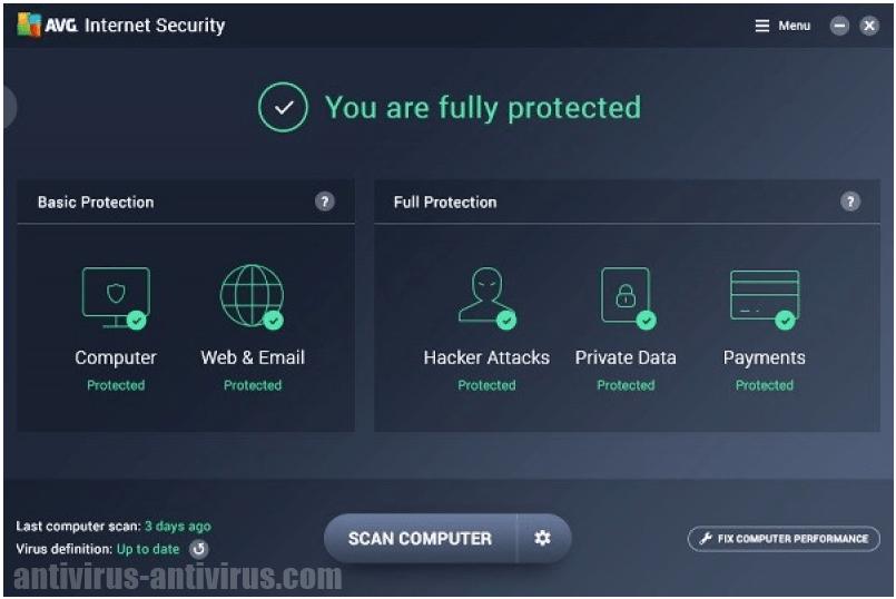 Free AVG Antivirus