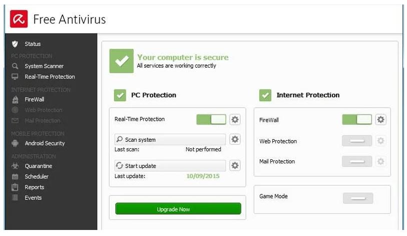 Get Avira Free Antivirus