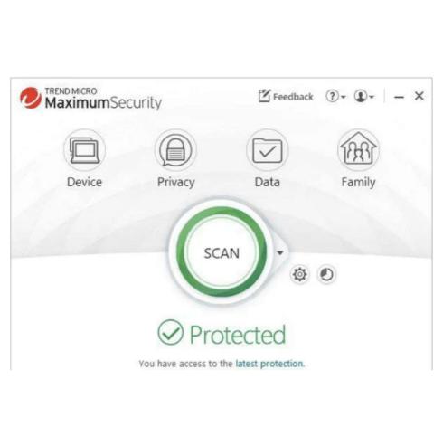 Trend Micro Maximum Security 1