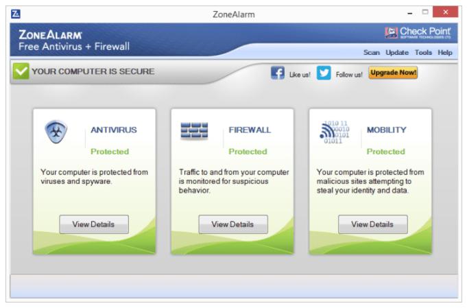 ZoneAlarm Antivirus 2